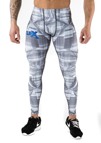 Men's Compression Leggings - Gray