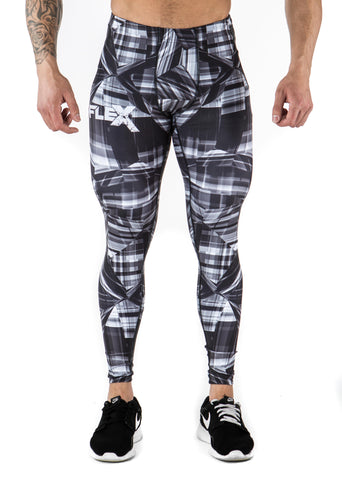 Men's Compression Leggings - Black