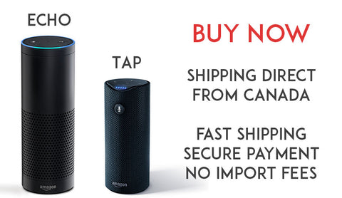 Amazon Tap and Echo