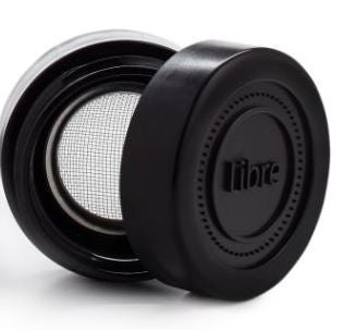 Spare Parts - Black Brush 14oz - Extra Lid & Filter