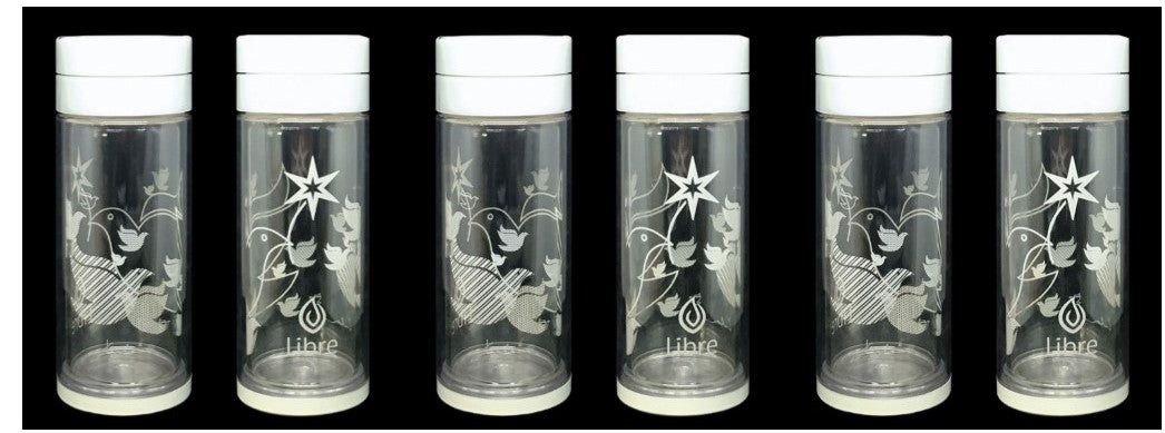 Libre Infuser - Peace Doves 14oz 6-piece Gift Set