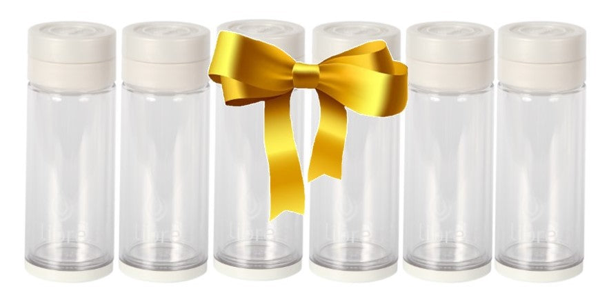 glass water bottles for fruit infusions, loose leaf tea and more