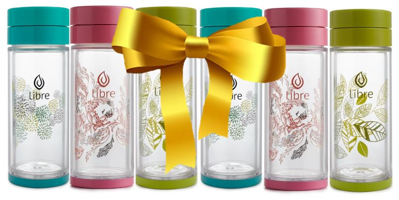 Libre Infuser - Mixed Life 14oz 6-piece Gift Set