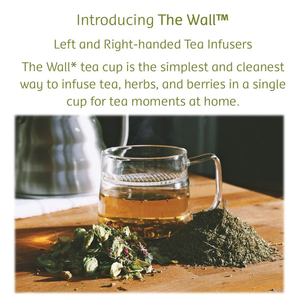The Wall™ Tea Infuser Mug, left-handed