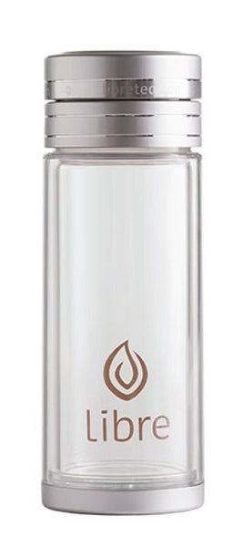 durable glass infuser bottle, classic