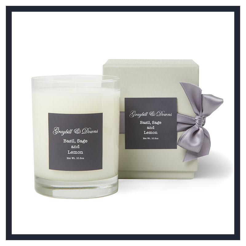 BASIL, SAGE AND LEMON CANDLE