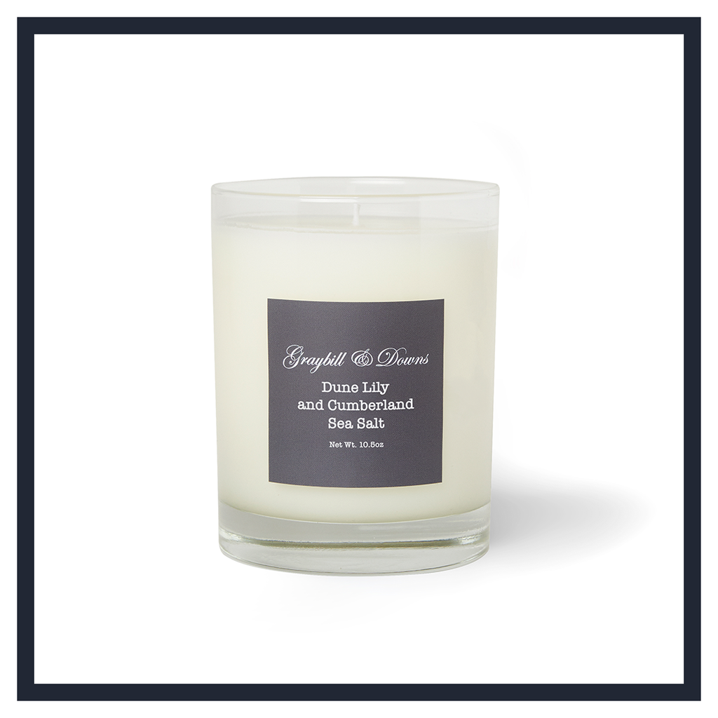 DUNE LILY AND CUMBERLAND SEA SALT CANDLE
