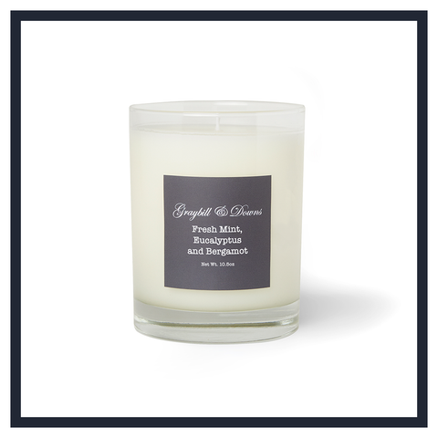 HEMLOCK AND BLACK TEA CANDLE