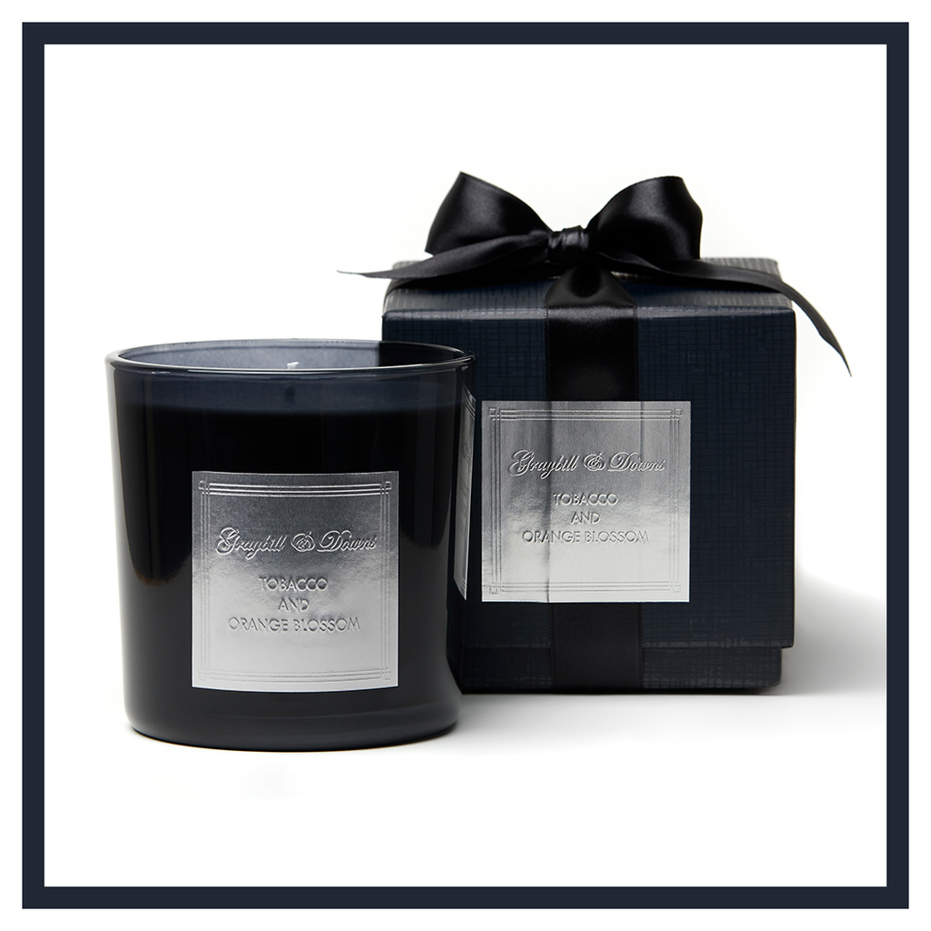 "TOBACCO AND ORANGE BLOSSOM ""1932"" CANDLE"
