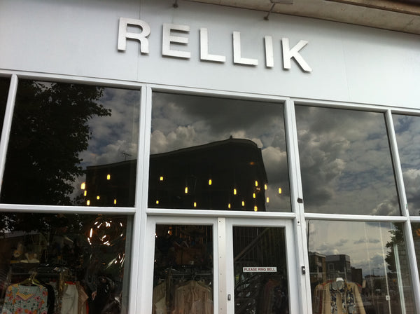 Rellik vintage store in London