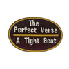 Perfect Verse Patch - The Carter Brand - Black By Popular Demand - Rooting For Everybody Black - Black Pride Apparel