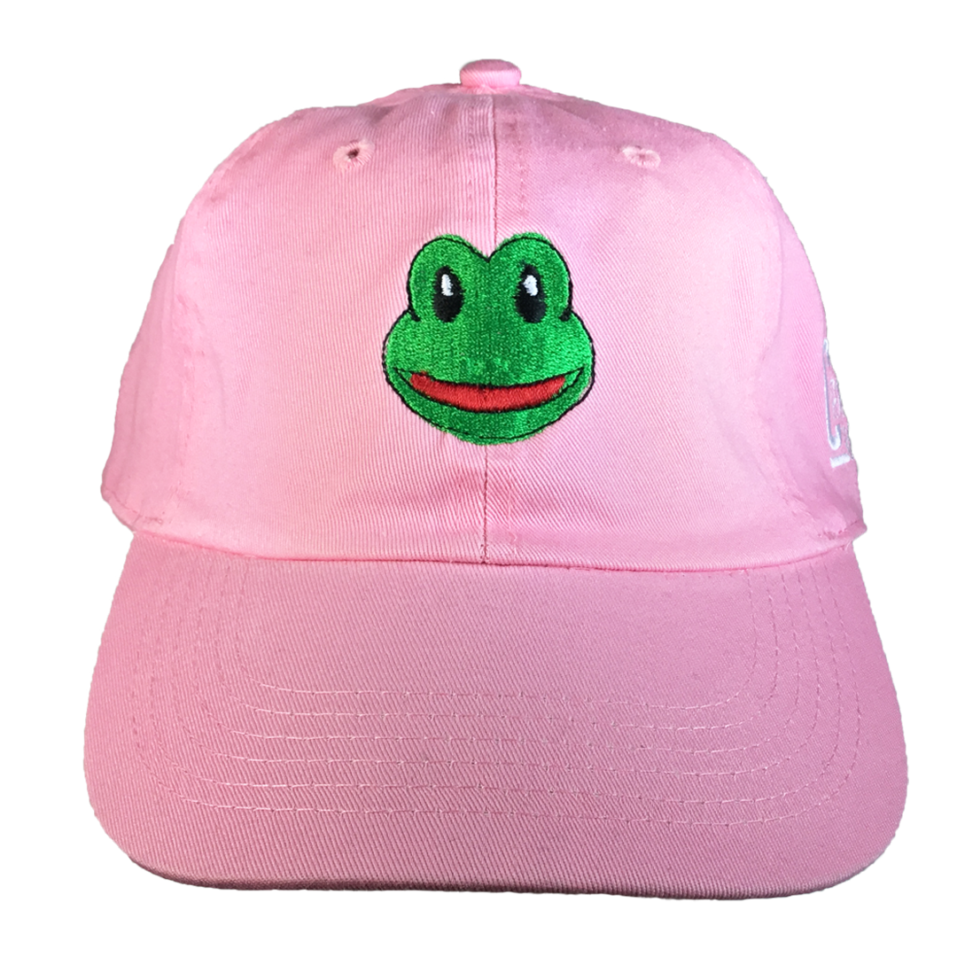 Frog Emoji Hat - The Carter Brand - Black By Popular Demand - Rooting For Everybody Black - Black Pride Apparel