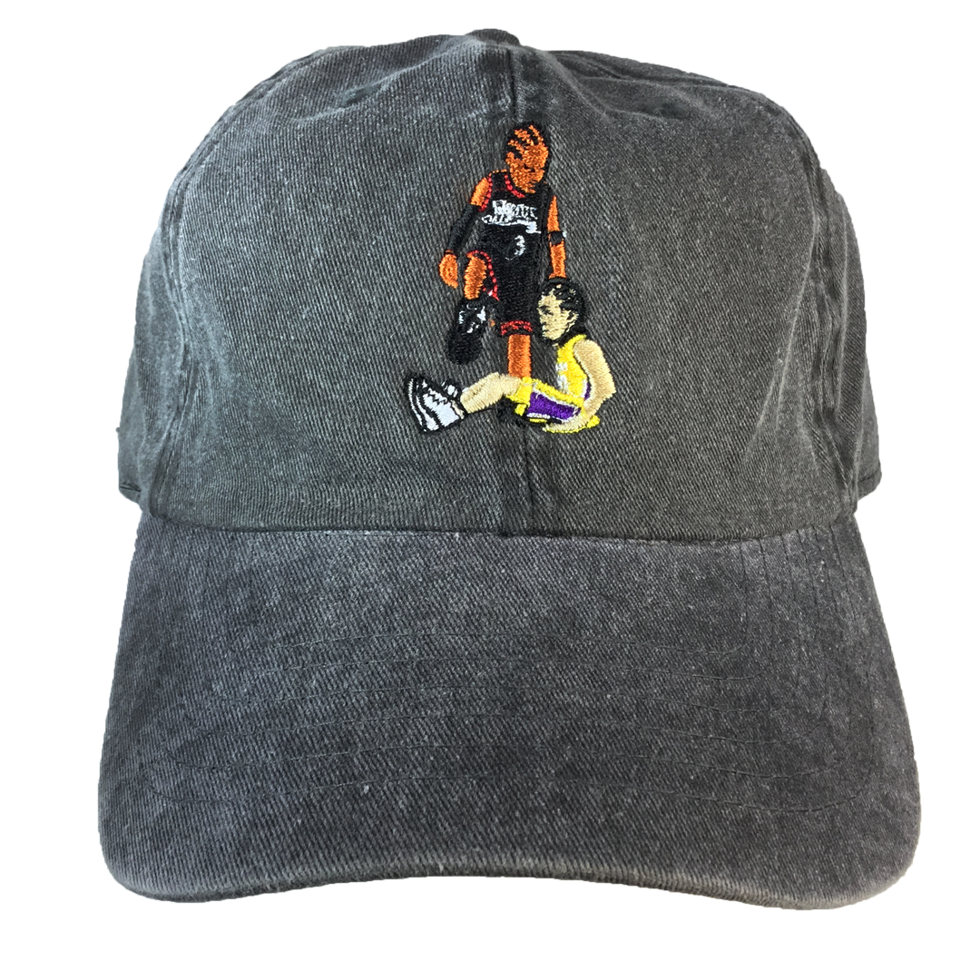 AI Step-over Legend Cap - The Carter Brand - Black By Popular Demand - Rooting For Everybody Black - Black Pride Apparel