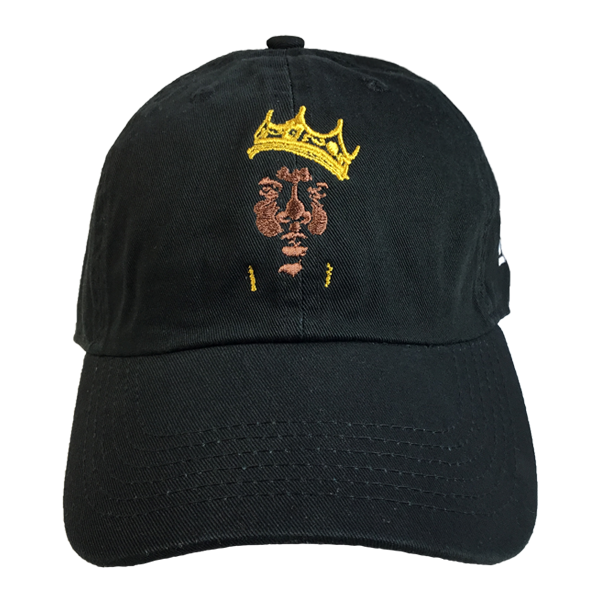 Biggie Hip Hop Legend Cap - The Carter Brand - Black By Popular Demand - Rooting For Everybody Black - Black Pride Apparel