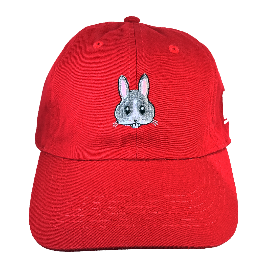 Bunny Emoji Hat - The Carter Brand - Black By Popular Demand - Rooting For Everybody Black - Black Pride Apparel