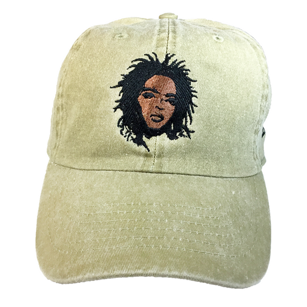 Lauryn Hill Embroidered Hat - The Carter Brand - Black By Popular Demand - Rooting For Everybody Black - Black Pride Apparel