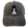 Prince Embroidered Baseball Hat - The Carter Brand - Black By Popular Demand - Rooting For Everybody Black - Black Pride Apparel