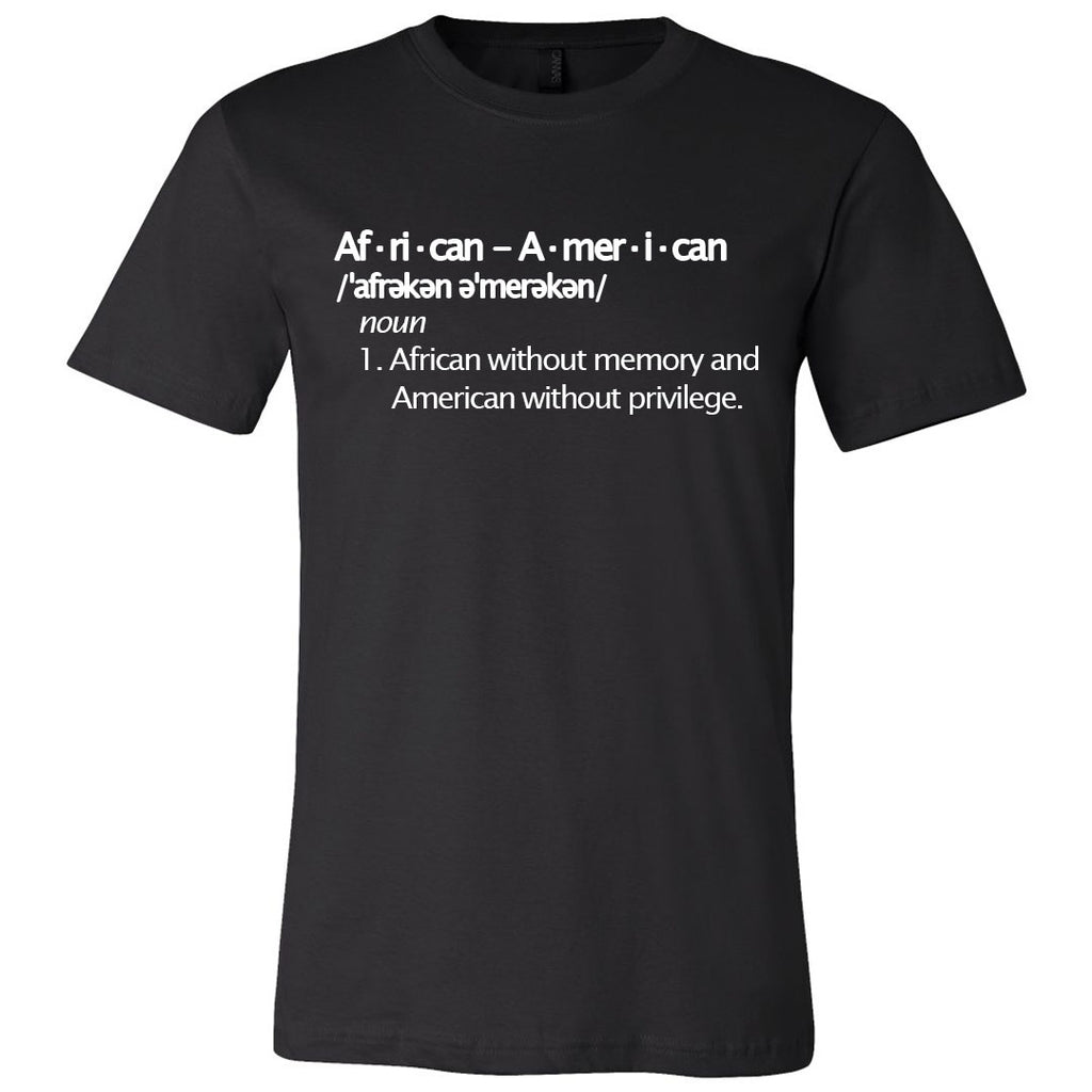 African American Unisex T-shirt - The Carter Brand - Black By Popular Demand - Rooting For Everybody Black - Black Pride Apparel