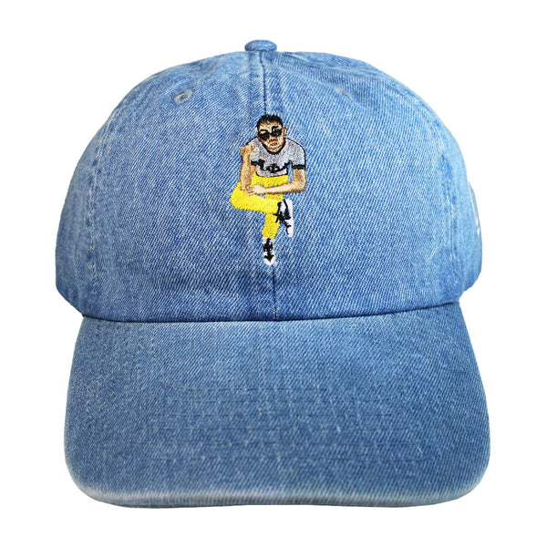 Alpha Pose Denim Hat - The Carter Brand - Black By Popular Demand - Rooting For Everybody Black - Black Pride Apparel