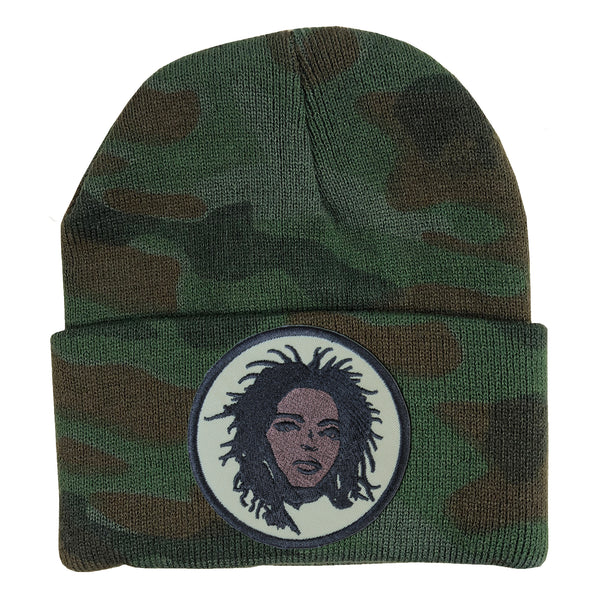 Lauryn Beanie - The Carter Brand - Black By Popular Demand - Rooting For Everybody Black - Black Pride Apparel
