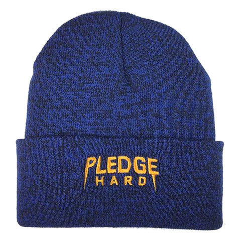 Royal/Yellow Pledge Hard Beanie