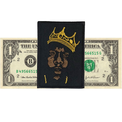Biggie Patch - The Carter Brand - Black By Popular Demand - Rooting For Everybody Black - Black Pride Apparel
