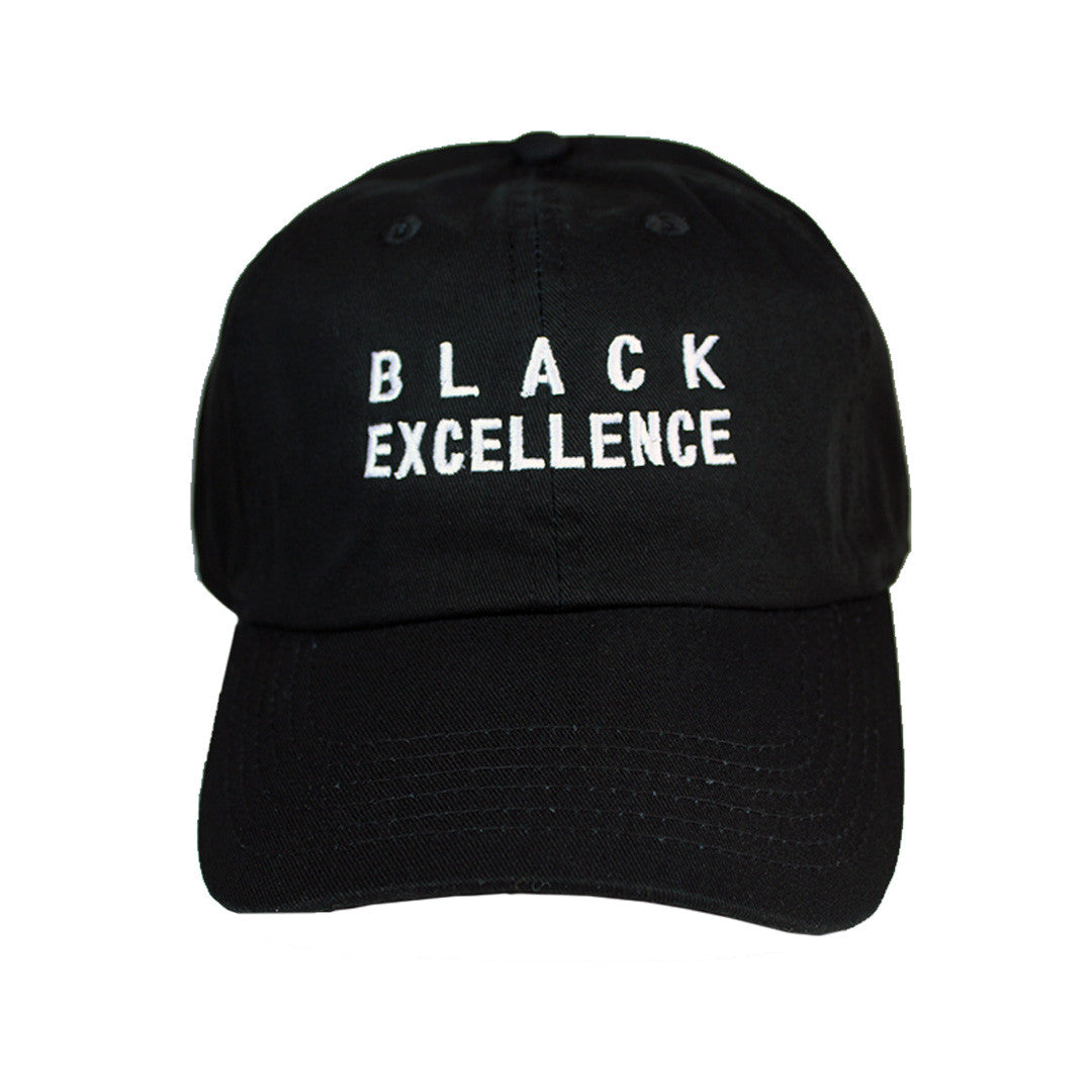 Black Excellence Hat - The Carter Brand - Black By Popular Demand - Rooting For Everybody Black - Black Pride Apparel