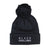 Black Excellence Pom Beanie