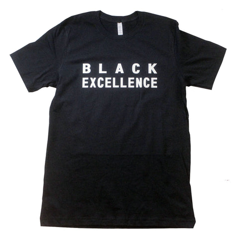 Black Excellence Unisex T-Shirt - The Carter Brand - Black By Popular Demand - Rooting For Everybody Black - Black Pride Apparel