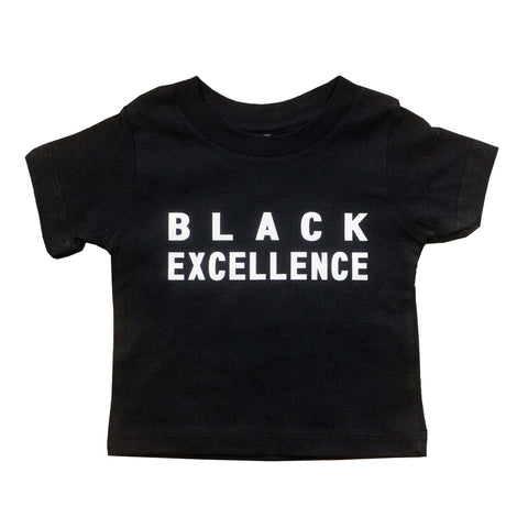 Black Excellence Unisex Kids T-Shirt - The Carter Brand - Black By Popular Demand - Rooting For Everybody Black - Black Pride Apparel