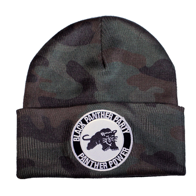 Black Panther Party Beanie - The Carter Brand - Black By Popular Demand - Rooting For Everybody Black - Black Pride Apparel
