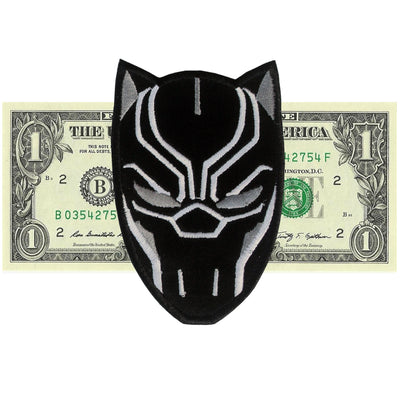Black Panther Patch - The Carter Brand - Black By Popular Demand - Rooting For Everybody Black - Black Pride Apparel