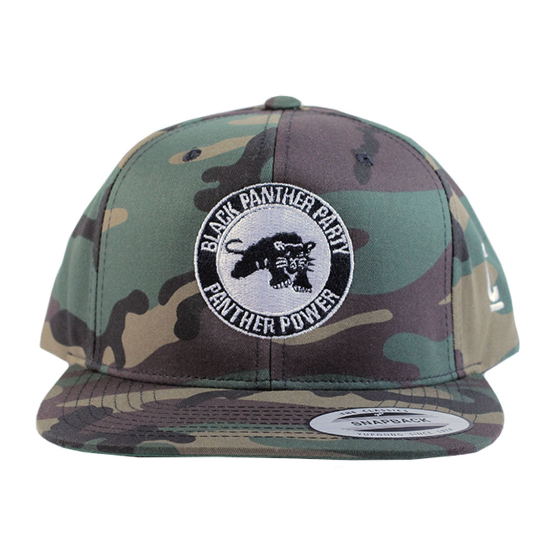 Black Panther Party Snapback - The Carter Brand - Black By Popular Demand - Rooting For Everybody Black - Black Pride Apparel