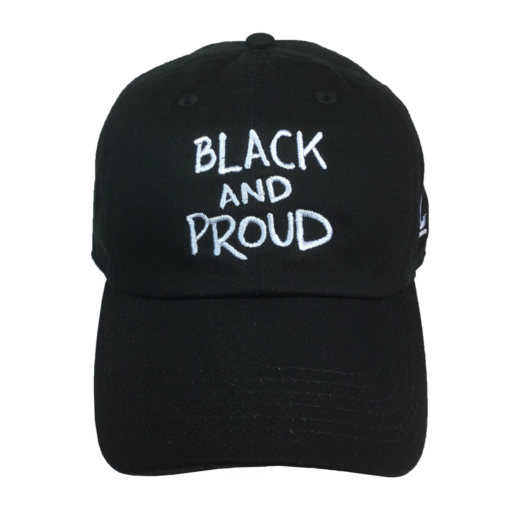183a34a9c39 Black and Proud Embroidered Baseball Hat - The Carter Brand - Black By  Popular Demand -