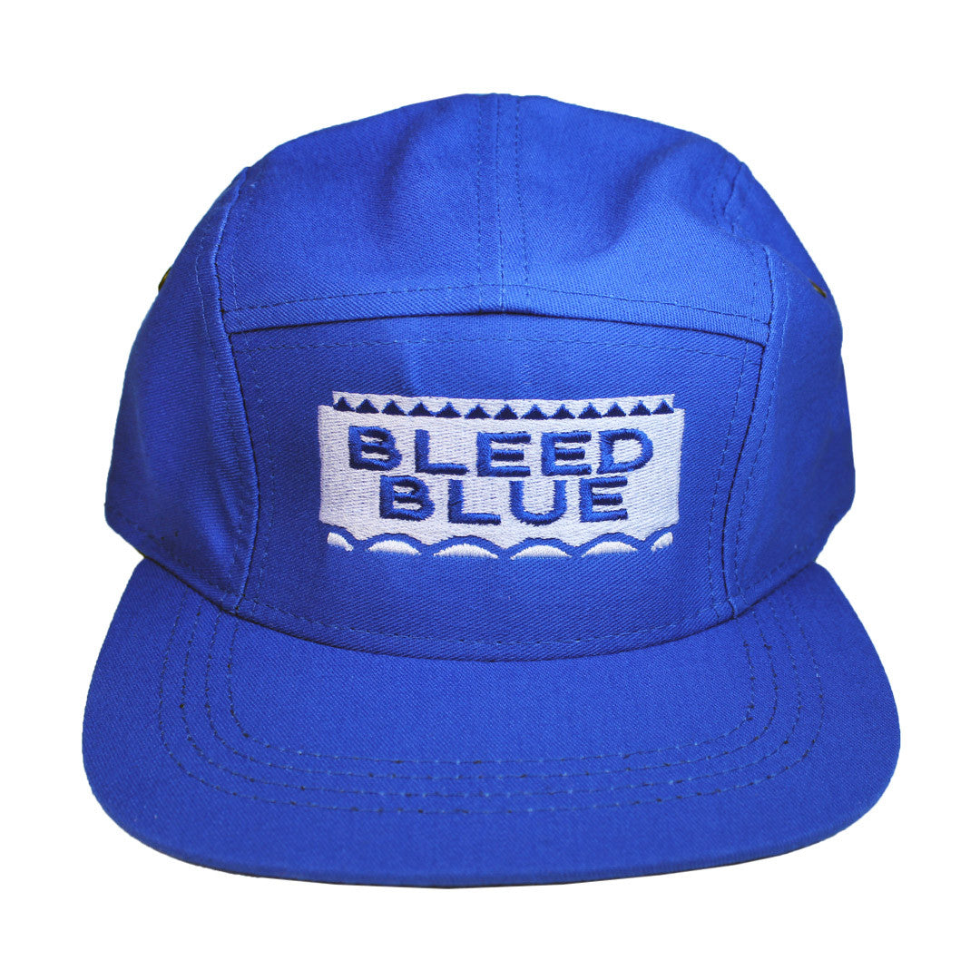 Bleed Blue 5 Panel Hat
