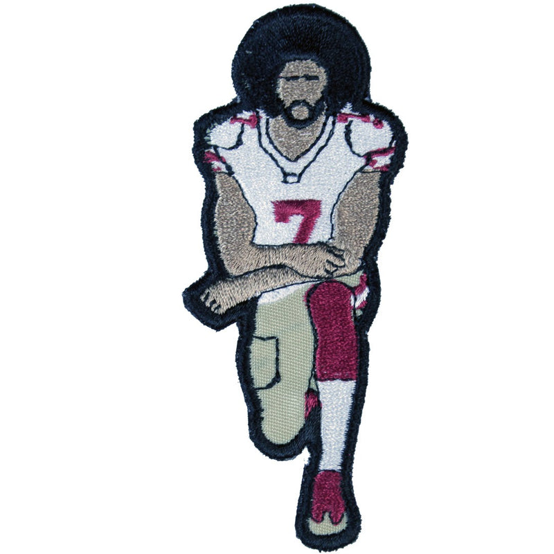 Colin Kaepernick Patch - The Carter Brand - Black By Popular Demand - Rooting For Everybody Black - Black Pride Apparel