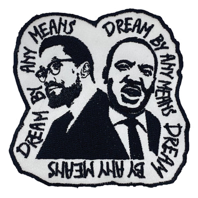 Dream By Any Means Patch - The Carter Brand - Black By Popular Demand - Rooting For Everybody Black - Black Pride Apparel
