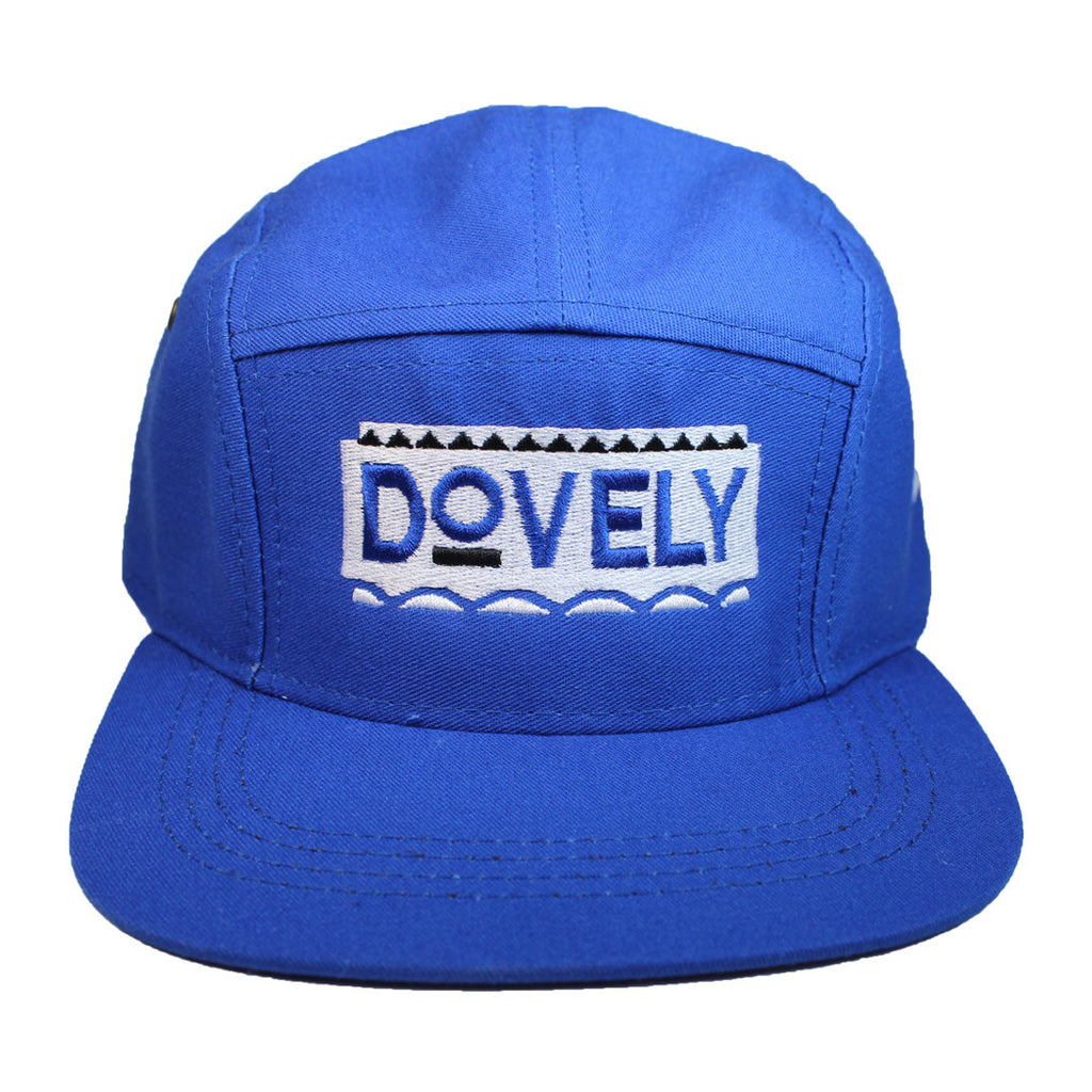 Dovely 5 Panel Cap - The Carter Brand - Black By Popular Demand - Rooting For Everybody Black - Black Pride Apparel