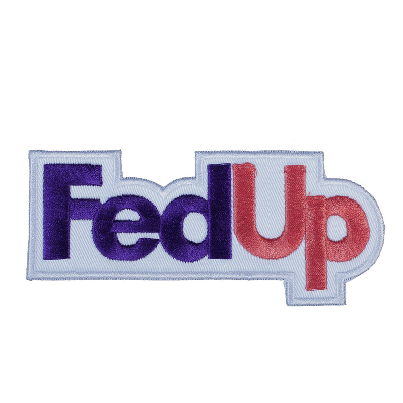 FedUp Patch - The Carter Brand - Black By Popular Demand - Rooting For Everybody Black - Black Pride Apparel
