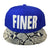 Finer Snapback Hat - The Carter Brand - Black By Popular Demand - Rooting For Everybody Black - Black Pride Apparel