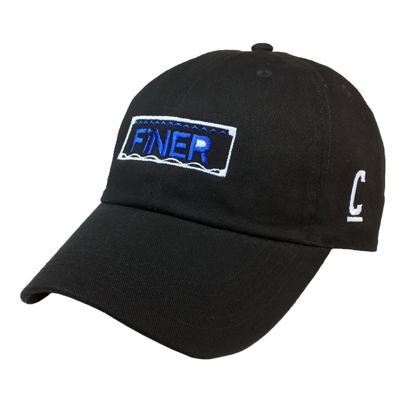 Finer Cap - The Carter Brand - Black By Popular Demand - Rooting For Everybody Black - Black Pride Apparel