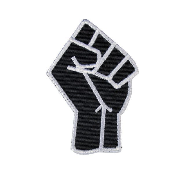 Black Power Fist Patch - The Carter Brand - Black By Popular Demand - Rooting For Everybody Black - Black Pride Apparel