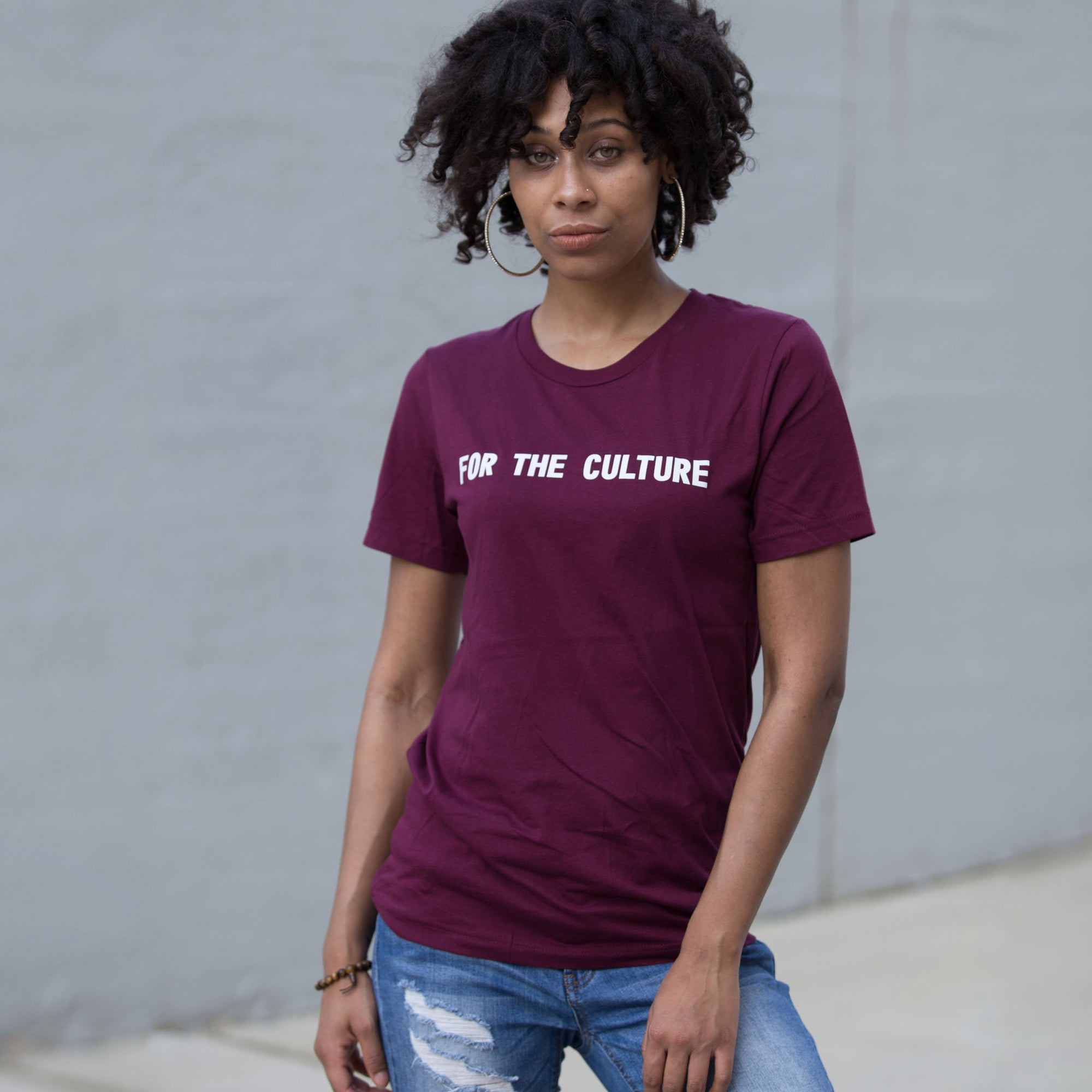 For The Culture Unisex T-Shirt - The Carter Brand - Black By Popular Demand - Rooting For Everybody Black - Black Pride Apparel