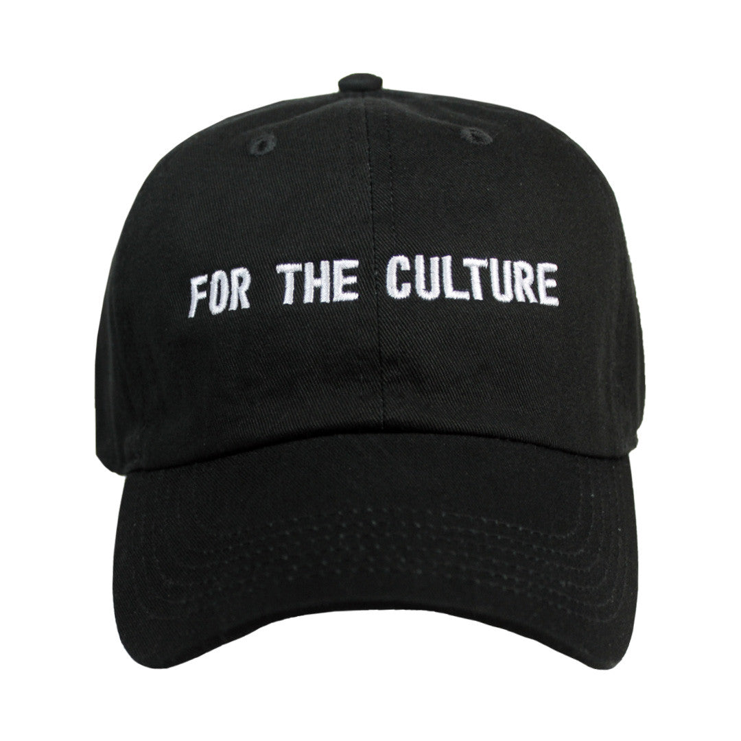 For the Culture Cap - The Carter Brand - Black By Popular Demand - Rooting For Everybody Black - Black Pride Apparel