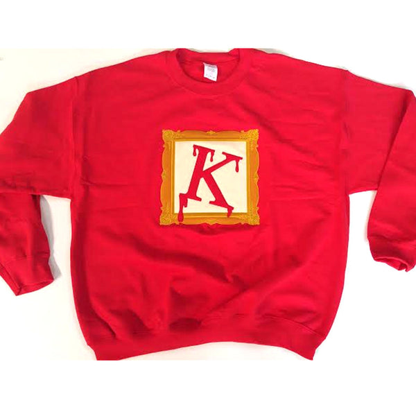 Kappa Frame Crewneck Sweatshirt - The Carter Brand - Black By Popular Demand - Rooting For Everybody Black - Black Pride Apparel