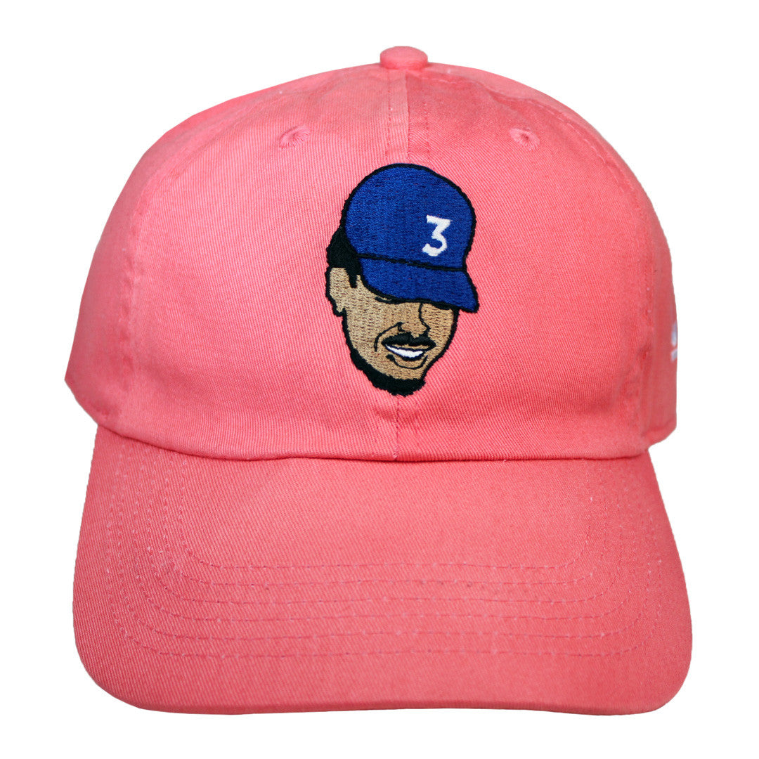 Chance The Rapper Embroidered Cap - The Carter Brand - Black By Popular Demand - Rooting For Everybody Black - Black Pride Apparel