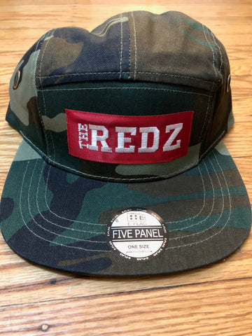 The Redz 5 Panel Hat