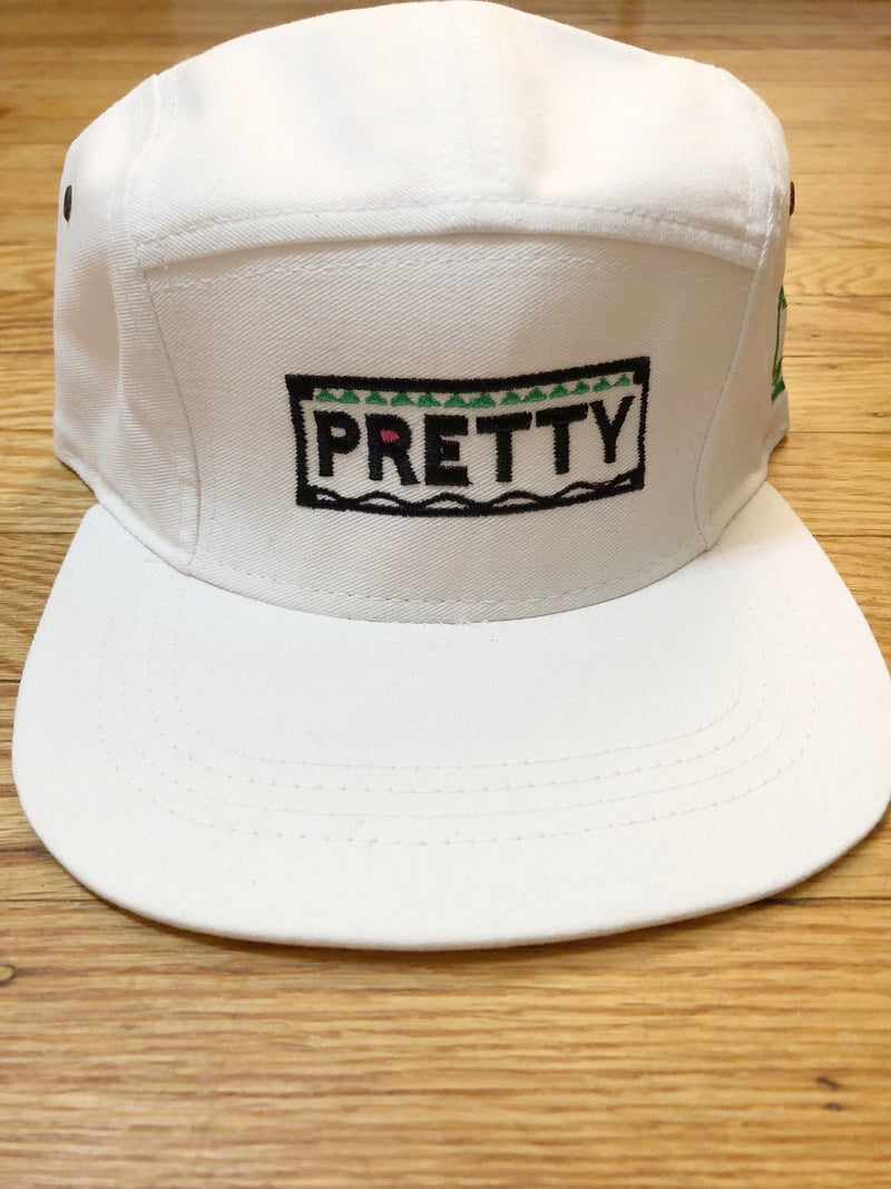 Pretty 5 Panel Hat - The Carter Brand - Black By Popular Demand - Rooting For Everybody Black - Black Pride Apparel