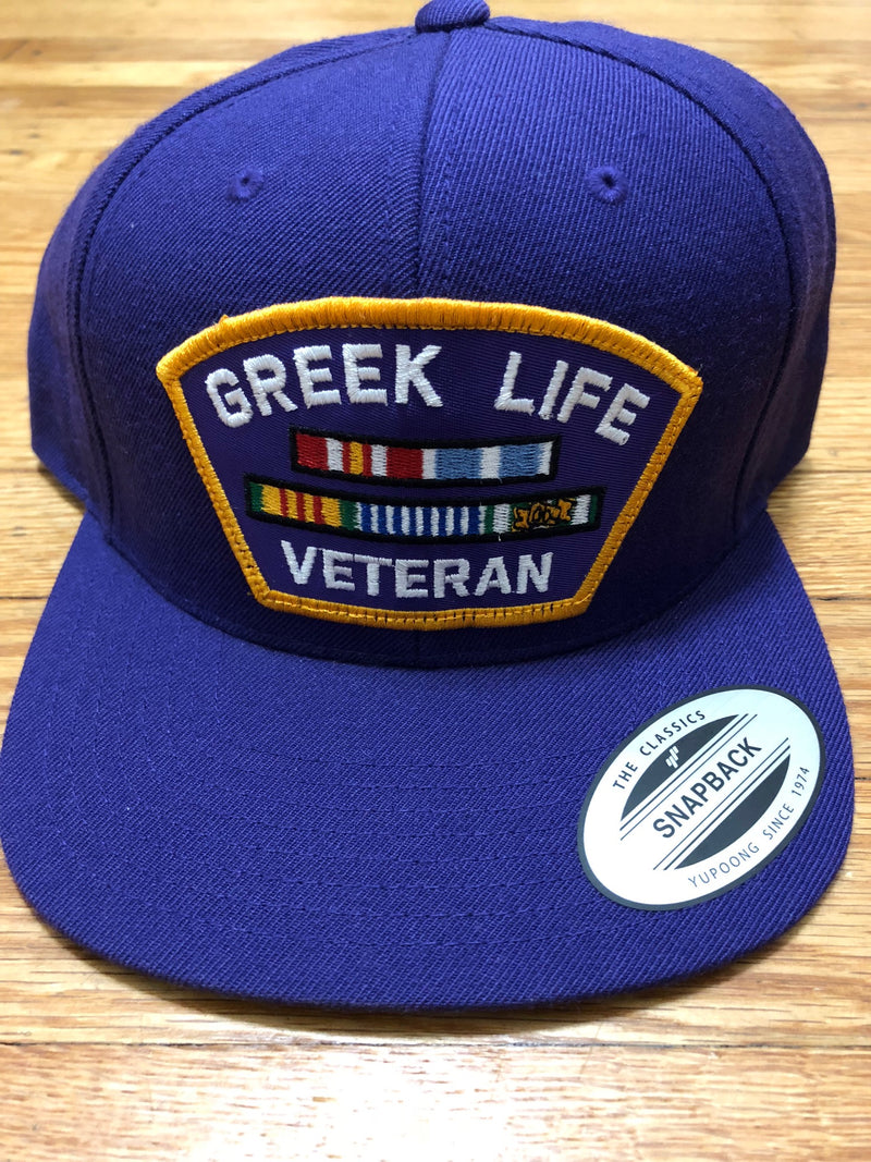 Greek  Life Veteran Snapback - The Carter Brand - Black By Popular Demand - Rooting For Everybody Black - Black Pride Apparel