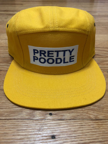 Pretty Poodle 5 Panel Hat